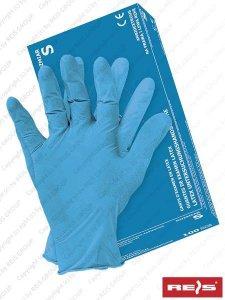 RĘKAWICE LATEKSOWE XL - RALATEX-BLUE N