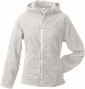 Ladies' Micro Fleece Jacket Hooded