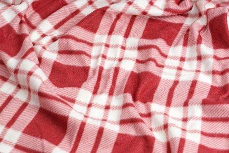 Fleece Blanket Checked