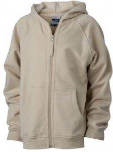 Kids' Hooded Sweat Jacket