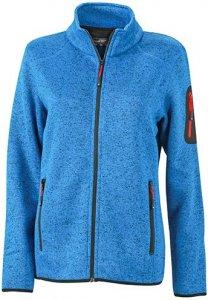 Ladies' Knitted Fleece Jacket