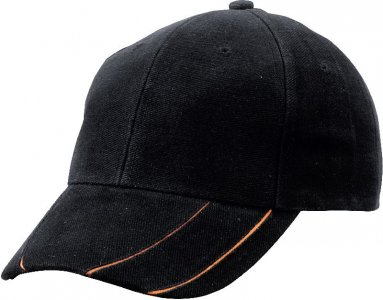 6 Panel Groove Cap brushed