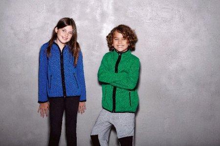Kids' Knitted Fleece Jacket