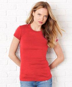 Ladies' Sheer Rib T-Shirt