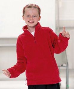 Kids' 1/4 Zip Fleece Sweater
