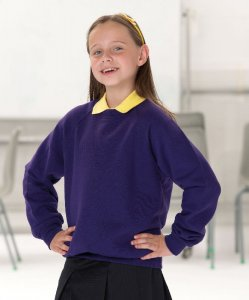 Kids' Raglan Sweatshirt