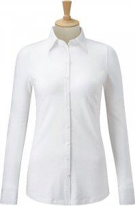 Ladies' Business Blouse-Stretch Shirt longsleeve
