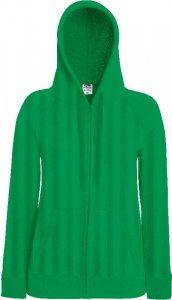 Ladies Hooded Sweat Jacket