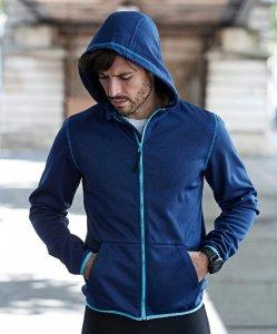"""Men's Hooded Fleece Jacket """"Malibu"""""""