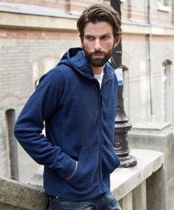 """Men's Hooded Fleece Jacket """"Urban"""""""