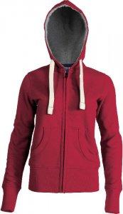 Ladies' Vintage Hooded Sweat Jacket