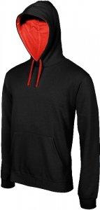 Contrast Hooded Sweatshirt