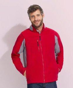 Contrast Fleece Jacket