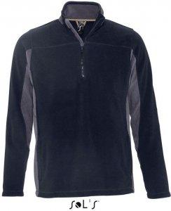 Contrast Half Zip Fleece