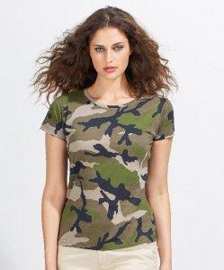 Ladies' Camouflage T-Shirt