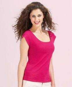 Ladies' Cap Sleeve T-Shirt