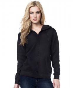 Ladies' Hooded Sweat Jacket